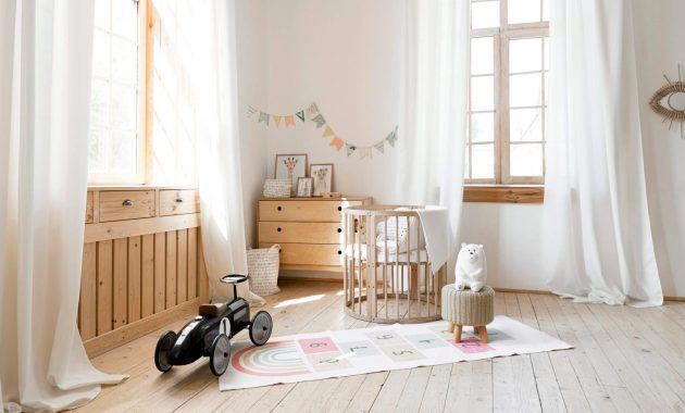 front-view-child-room-with-rustic-interior-design